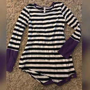 Black & White Stripe Tunic